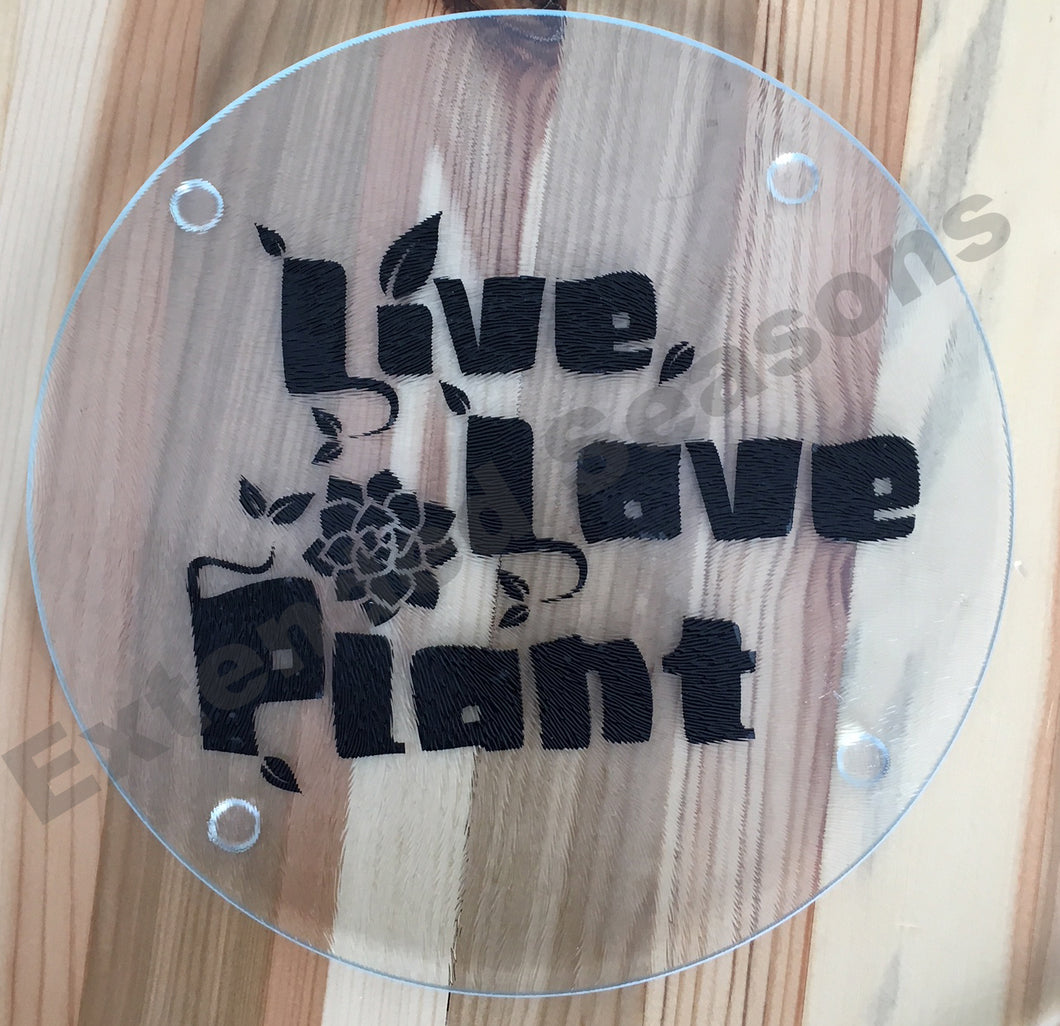 Live Love Plant Cutting Board