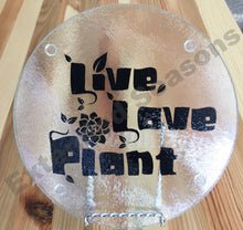 Load image into Gallery viewer, Live Love Plant Cutting Board