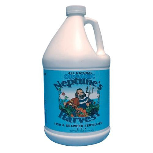 Neptunes Harvest Fish and Seaweed Fertilizer Blend, Blue Label, 18 oz
