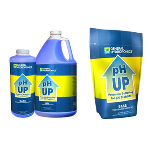 General Hydroponics pH Up Liquid Quart