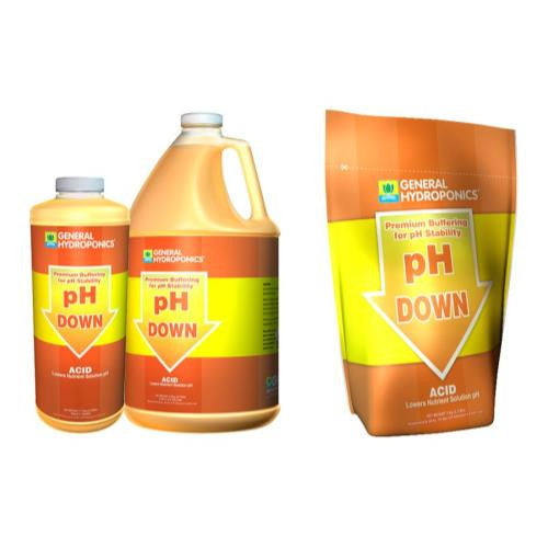 General Hydroponics pH Down Liquid Quart