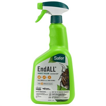 Safer® Brand End ALL® Insect Killer with Neem Oil 32oz Ready to Use with Trigger Sprayer