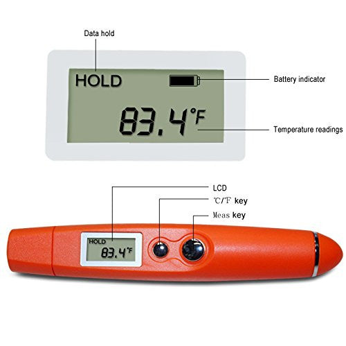 Non-Contact Infrared (IR) Thermometer