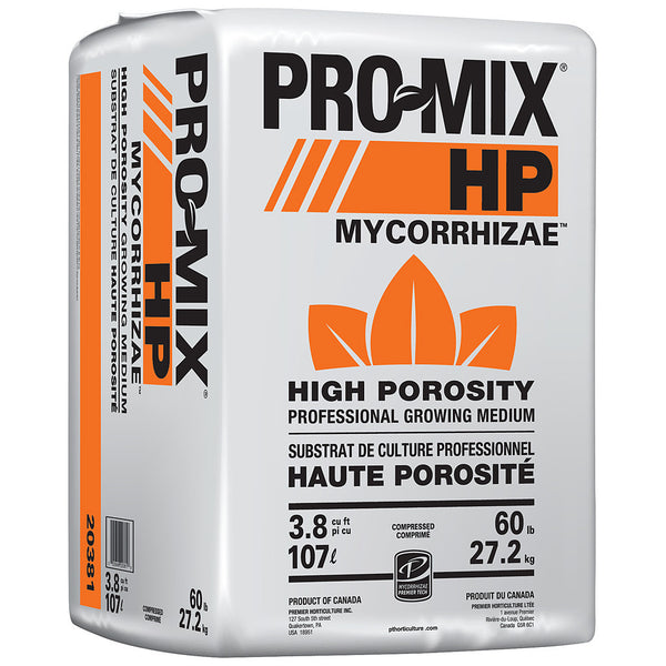 PRO-MIX HP W/MYCORRHIZAE, 3.8 cu ft