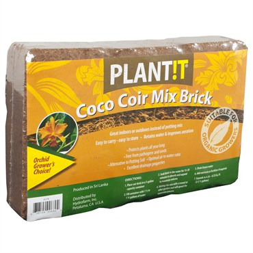 Coco Coir Peat Bricks 3/pack