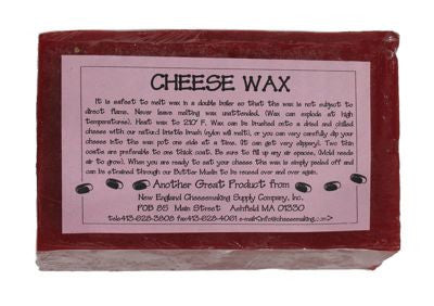 Red Cheese Wax - 1 lb