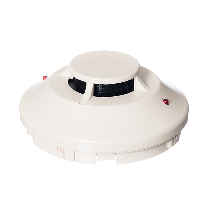 System Sensor 100 series Low Profile Plug-In Photoelectric Smoke Detector