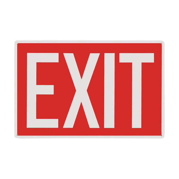 Exit Sign,