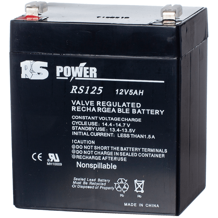 12V 5 Ah Sealed Lead Acid Battery (LOCAL PICK-UP ONLY)