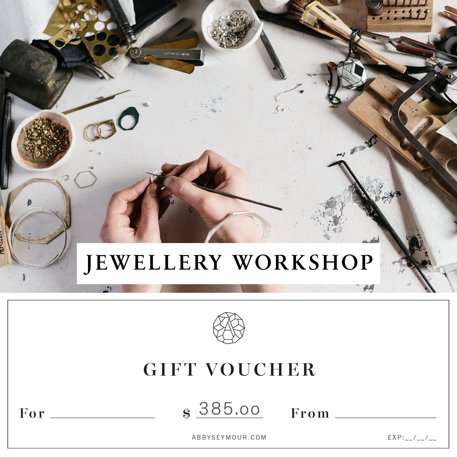 Workshop Gift Voucher $385