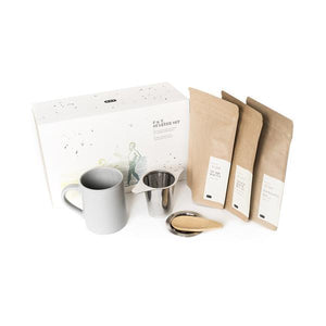PAPER & TEA P & T CRAFTED TEA STARTER SET GIFT SET NATURALLY NAUGHTY STORE NNSTORE HK
