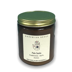 BOHEMIAN RÊVES PLANT-BASED CANDLE - PALO SANTO MIND WELLNESS NATURALLY NAUGHTY STORE NNSTORE HK