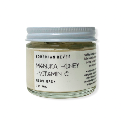 BOHEMIAN RÊVES MANUKA HONEY + VITAMIC C GLOW MASK SKINCARE NATURALLY NAUGHTY STORE NNSTORE HK
