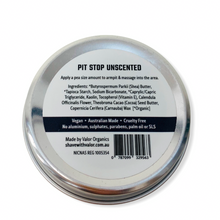 Load image into Gallery viewer, PIT STOP NATURAL DEODORANT PASTE (UNSCENTED)