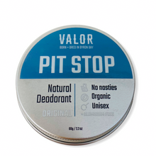 Load image into Gallery viewer, VALOR PIT STOP NATURAL DEODORANT PASTE ORIGINAL SKINCARE BODYCARE NATURALLY NAUGHTY STORE NNSTORE HK