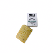 Load image into Gallery viewer, Hemp & Peppermint Body Scrub and Soap Valor