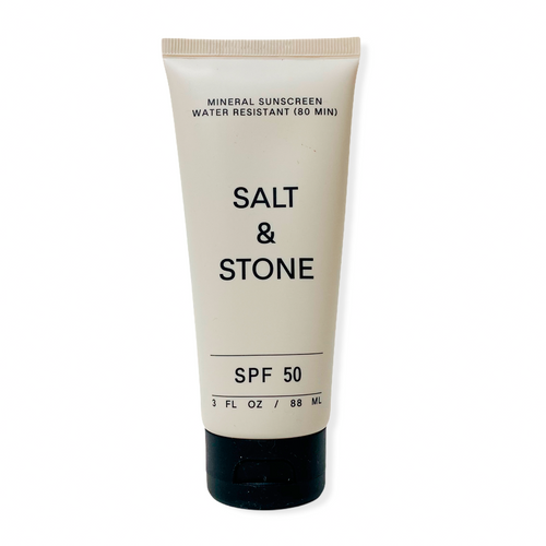 SALT & STONE SPF 50 MINERAL SUNSCREEN LOTION SUNBLOCK SKINCARE NATURALLY NAUGHTY STORE NNSTORE HK