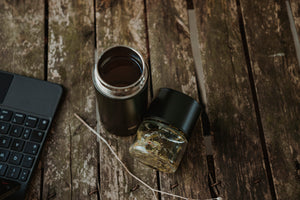 PAPER & TEA P & T NOMAD BOTTLE BLACK ACCESSORIES NATURALLY NAUGHTY STORE NNSTORE HK