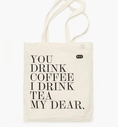 PAPER & TEA P & T MY DEAR TOTE BAG ACCESSORIES NATURALLY NAUGHTY STORE NNSTORE HK
