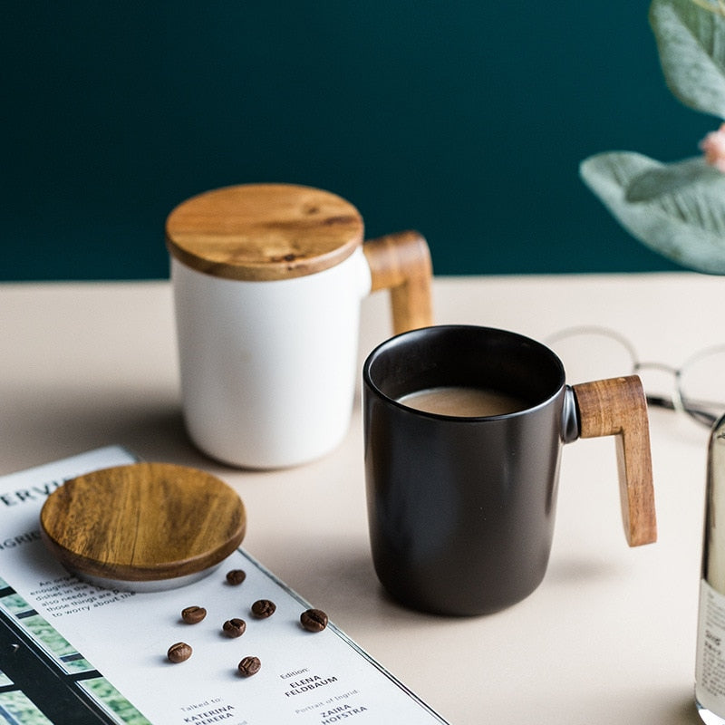 NORDIC CERAMIC MARK COFFEE MUG - Brown Shots Coffee
