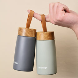 HUB DESIGN TRAVEL MUG - Brown Shots Coffee