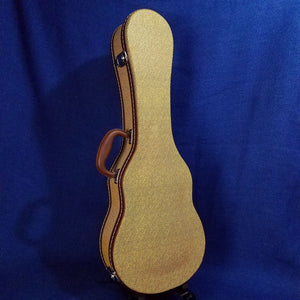 Ohana Tenor Ukulele Hard Case Tweed UCTV-27