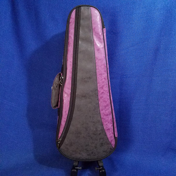 Ohana Concert Ukulele Soft Case Purple / Black UCS-24BP