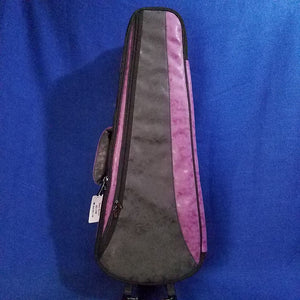 Ohana Tenor Ukulele Soft Case Purple / Black UCS-27BP