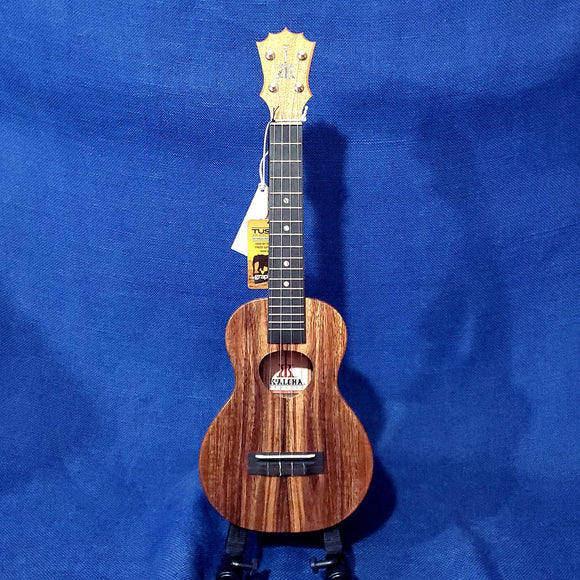 KoAloha Concert All Solid Koa KCM-00 Made in Hawaii Ukulele w/ Hardcase U618