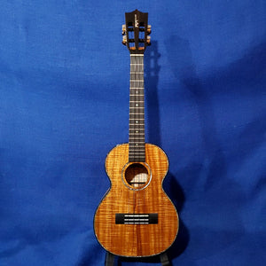Kamaka Tenor Deluxe 2 HF-3 D2I All Solid Koa Slotted Headstock Hawaii Ukulele M934