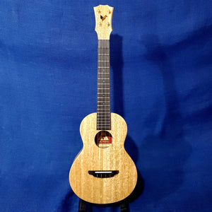 The Rebel Tenor Double Creme Brulee All Solid Mango Ukulele w/ Bag U223