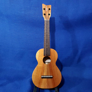Kamaka Concert Ukulele All Solid Koa Made in Hawaii HF-2 Uke .387