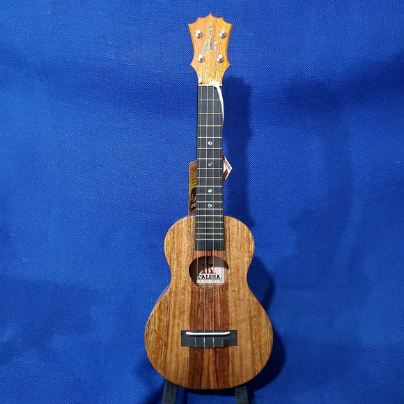 KoAloha Concert All Solid Koa KCM-00 Made in Hawaii Ukulele w/ Hardcase U007