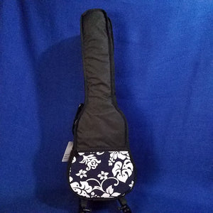 Ohana Tenor Ukulele Gig Bag Black Hibiscus Hawaiian Print UB-27BK  Accessory