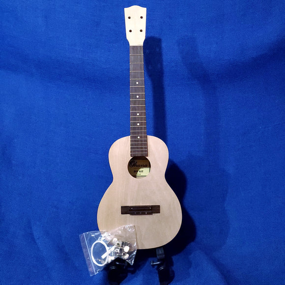 Ohana Tenor TK-KIT DIY Kit Laminate Mahogany Do It Yourself Paintable Ukulele