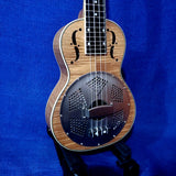 Gold Tone Concert ResoMaple Laminate Curly Maple Resonator Ukulele with Gigbag U818