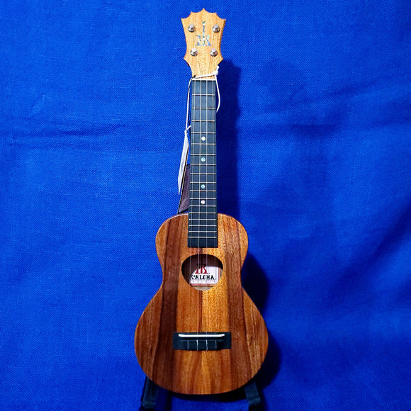 KoAloha Concert All Solid Koa KCM-00 Made in Hawaii Ukulele w/ Hardcase U859