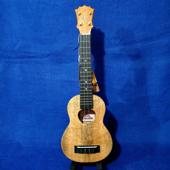 KoAloha Super Soprano Long Neck All Solid Mango KSM-02MG Made in Hawaii Ukulele w/ Hardcase i064