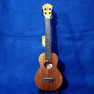 KoAloha Long Neck Super Concert All Solid Koa KCM-02 Made in Hawaii Ukulele w/ Hardcase U328