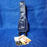 Flight Soprano TUS35 WH White Travel Laminate Linden Top / ABS Plastic Back and Sides Ukulele w/ Bag