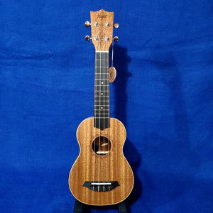 Flight Soprano DUS321 Laminate Mahogany Ukulele w/ Bag i088
