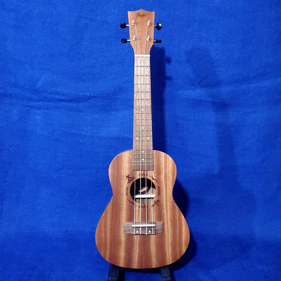 Flight Concert NUC310 Laminate Mahogany Ukulele w/ Bag i130
