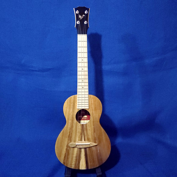 The Rebel Tenor Prototype All Solid Acacia Maple Fretboard Ukulele w/ Bag i292