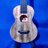 The Rebel Concert Slimline Creme Brulee All Solid Mango Ukulele w/ Bag i282