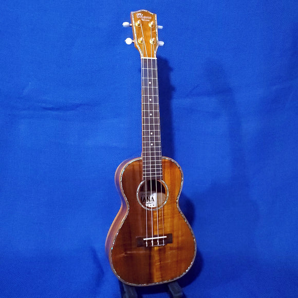 Ohana Concert CK-350G All Solid Koa with Abalone Gloss Ukulele i370