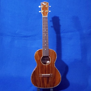 Ohana Tenor TK-350G All Solid Koa with Abalone Ukulele i371