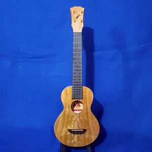 The Rebel Super Concert Long Neck Slimline Creme Brulee All Solid Mango Ukulele Bag i424