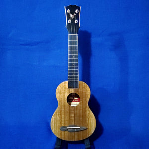 The Rebel Soprano Prototype All Solid Acacia with Ebony Details Ukulele w/ Bag i473