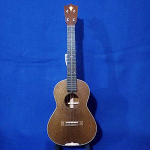 "Martin Custom Shop Tenor Style 3 ""Modern Vintage"" Model All Solid Sinker Mahogany / Maple Accents / Bowtie Inlay Made in America Ukulele w/ Case i484"