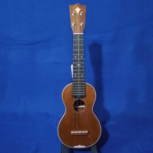 "Martin Custom Shop Soprano Style 3 ""Modern Vintage"" Model All Solid Sinker Mahogany / Maple Accents / Bowtie Inlay Made in America Ukulele w/ Case"